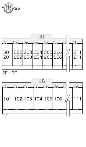 レオパレスユリシーズ本今 211号室のその他