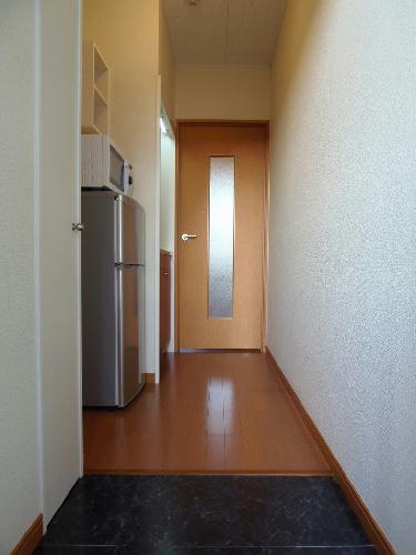 レオパレスユリシーズ本今 311号室の玄関