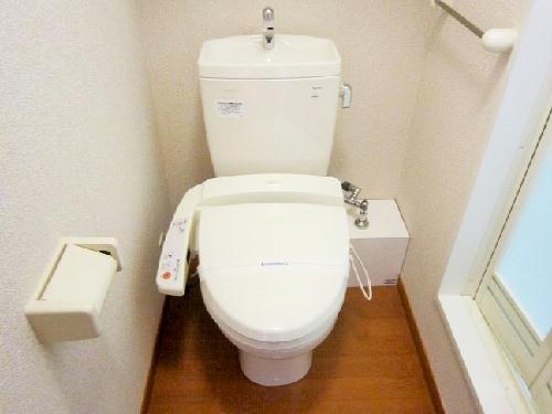 レオパレスエレガンスオキノミヤ 205号室のトイレ