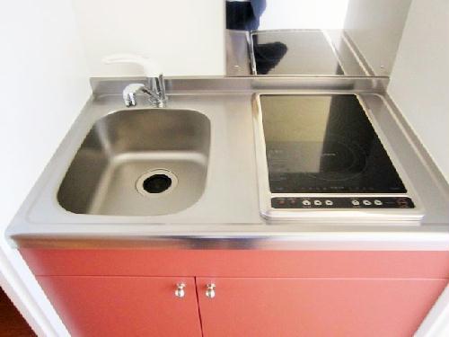 レオパレスエレガンスオキノミヤ 205号室のキッチン