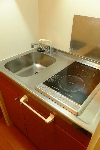 レオパレスwisteria 210号室のキッチン