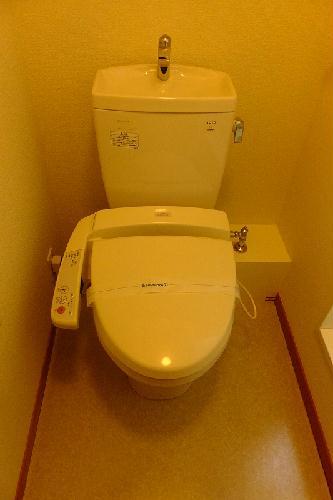 レオパレスwisteria 210号室のトイレ