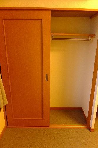 レオパレスwisteria 210号室の収納