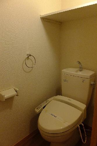 レオパレスウィステリア神田 208号室のトイレ
