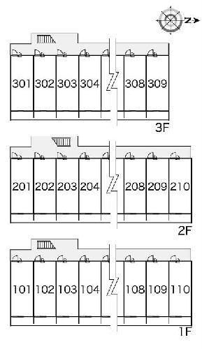 レオパレスウィステリア神田 208号室のその他