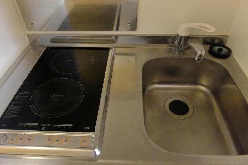 レオパレス豊Ⅲ 202号室のキッチン