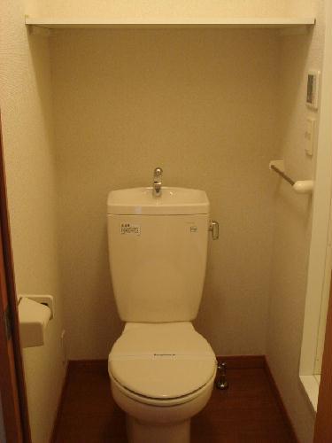 レオパレスダース ワン 106号室のトイレ