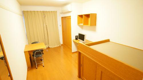 レオパレス大園Ⅲ 106号室のリビング