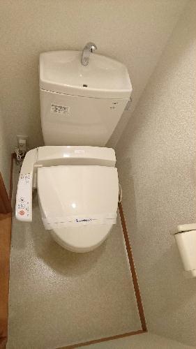 レオパレスリッチM 209号室のトイレ