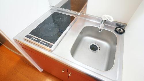 レオパレスソレイユⅡ 215号室のキッチン