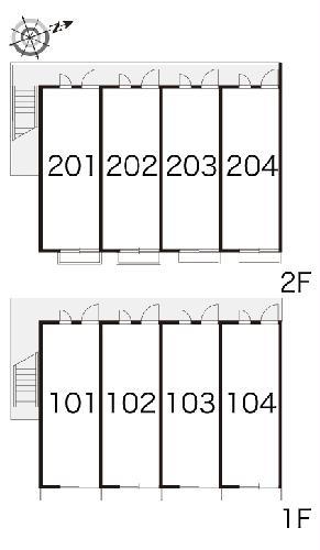 レオパレスボルツアーノ 104号室のその他