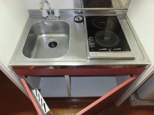 レオパレスシェルター 203号室のキッチン