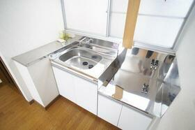 下山荘 2-A号室のキッチン