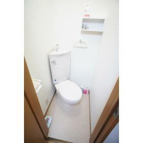 下山荘 2-A号室の洗面所