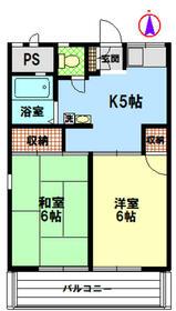 カーサ斉藤A棟 201号室の間取り