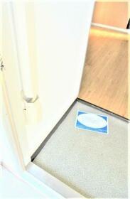 カーサ斉藤A棟 201号室の玄関
