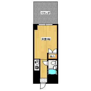 ミリアン稲沢駅前・102号室の間取り