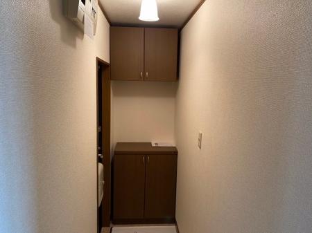 グランシティソレーユ B棟 105号室の洗面所