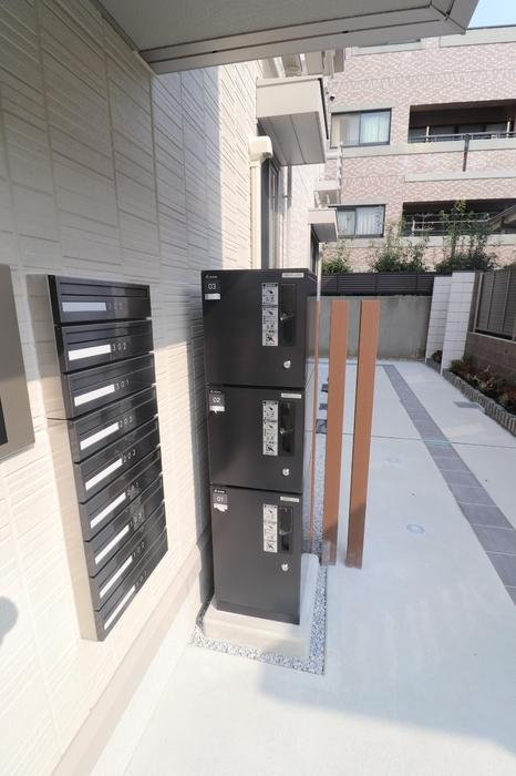 D-room藤崎 101号室の洗面所