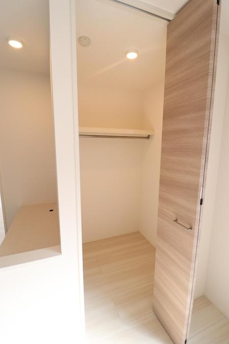 D-room藤崎 101号室のバルコニー