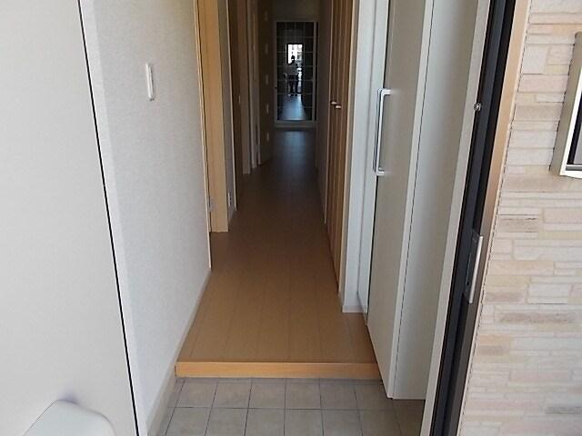 エレガンシアF 01010号室の玄関