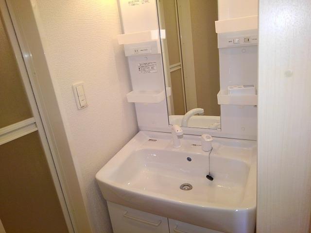 エレガンシアF 01010号室の洗面所