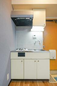 ホワイトヒルズ 103号室のキッチン