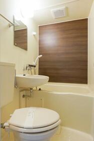 ホワイトヒルズ 103号室の風呂