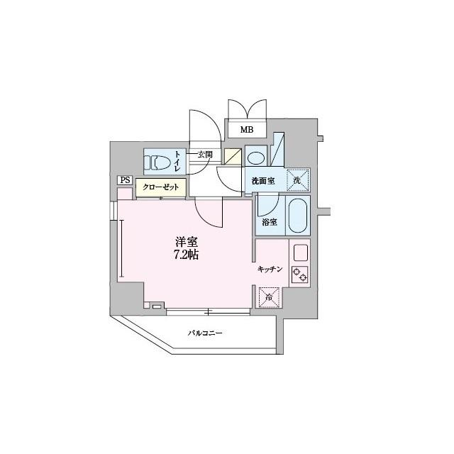 55-3錦糸町・0301号室の間取り