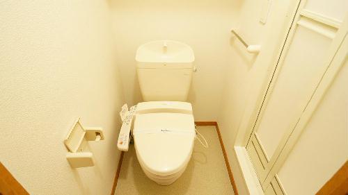レオパレスベルファミーユ 203号室の玄関