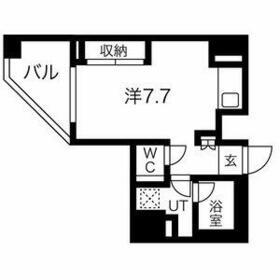 スパシエ蒲田グランドタワー・1006号室の間取り