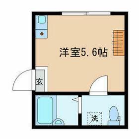 ノーザンロード綾瀬・103号室の間取り