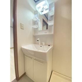メゾンアサカ 201号室の洗面所