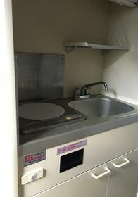 ル・ヴィラージュ玉川学園 201号室のキッチン