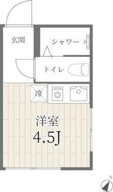 PROTO渋谷神泉II・202号室の間取り