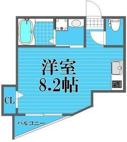 Gran Bleu Funabashi・101号室の間取り