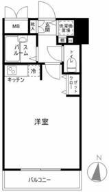 エルミタージュ桜台駅前・402号室の間取り