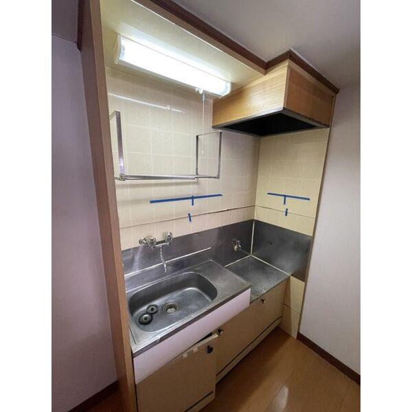 プレアール下原 105号室のキッチン