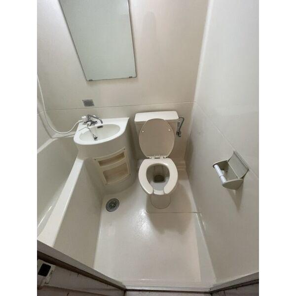プレアール下原 105号室のトイレ