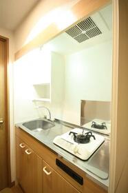 TENYAシティビル 202号室のキッチン