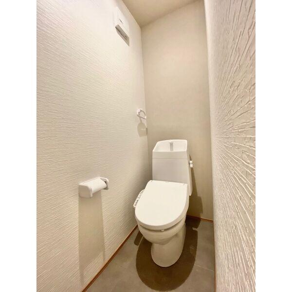 CHIKUSA-SIX 202号室のトイレ