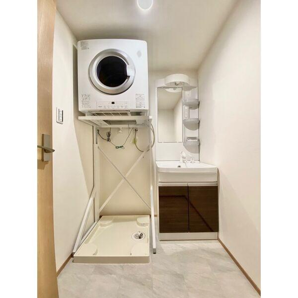 CHIKUSA-SIX 202号室の洗面所