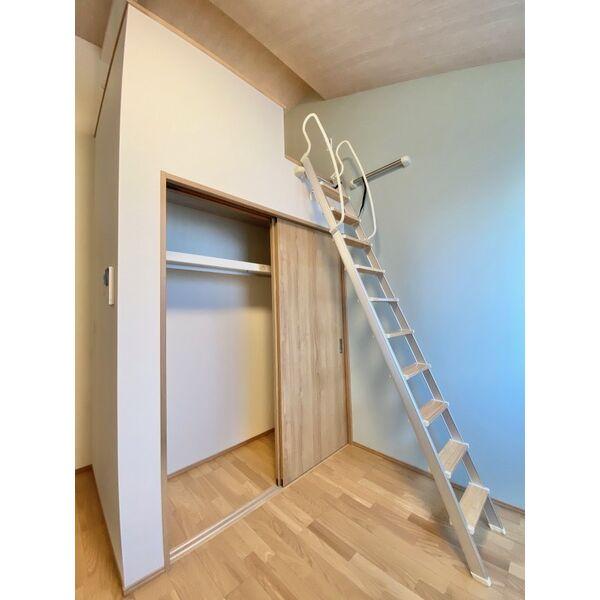 CHIKUSA-SIX 201号室の収納