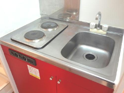 レオパレスミレニアム 201号室のキッチン