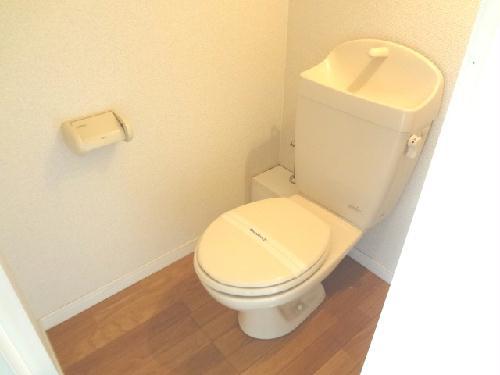 レオパレスミレニアム 201号室のトイレ