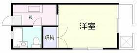 メゾン富士・105号室の間取り