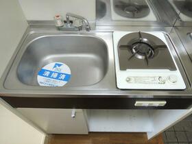 スカイコート町田 202号室のキッチン