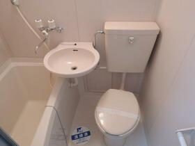 スカイコート町田 202号室のトイレ