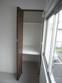 グリーンビレッジ 202号室の収納