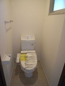 グリーンビレッジ 202号室のトイレ